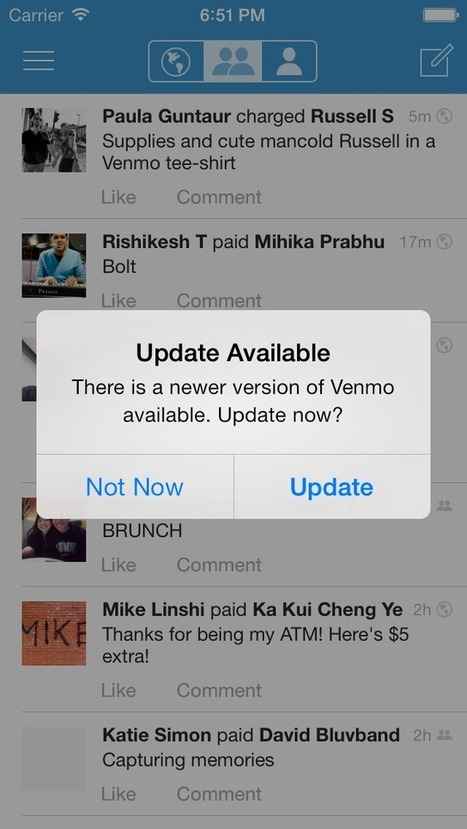 iOS Library Allowing You To Prompt Specific Groups (ie. Beta Testers) About An App Update | iOS Dev | Scoop.it