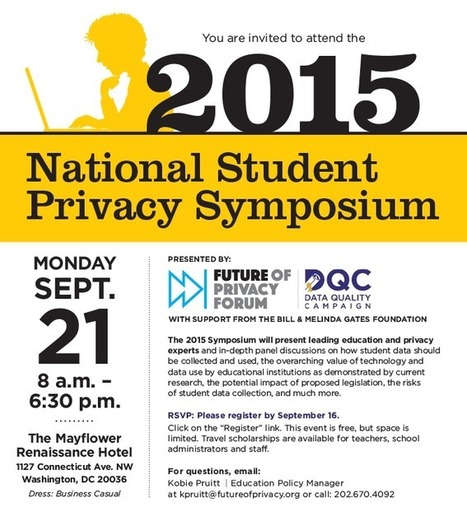 2015 National Student Privacy Symposium | Learning Analytics in Higher Education | Scoop.it