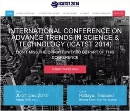 International Conference on Advance Trends in Science & Technology (ICATST-14) | conferences | Scoop.it