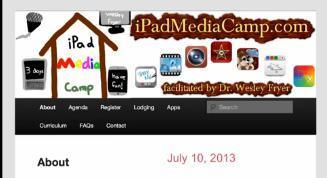 iPad Media Camp FAQs | Wesley Freyer | Into the Driver's Seat | Scoop.it