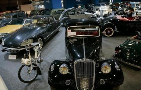 Enchères: pluie de records à Paris pour des voitures de collection | Voitures anciennes - Classic cars - Concept cars | Scoop.it
