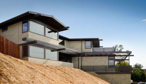 Belle résidence privée sur un flanc de colline boisée à Los Angeles | Construire Tendance | Scoop.it