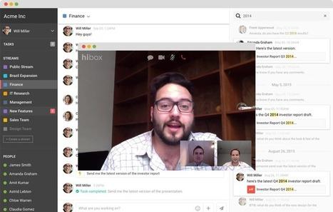 HiBox. Communiquer et gérer les tâches en équipe - Les Outils Collaboratifs   Outils et  innovations pour mieux trouver, gérer et diffuser l'information   Scoop.it