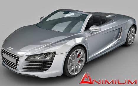 Audi R8 GT Spyder 3d model | Free 3D Models for Maya and 3DS MAX | Audi R8 GT 3d model | Scoop.it
