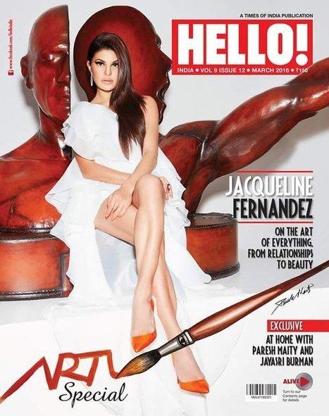 Jacqueline Fernandez On Cover Page of Hello Magazine March 2016 - PhotoFunMasti | Latest Photos Of Hot Celebs | Scoop.it
