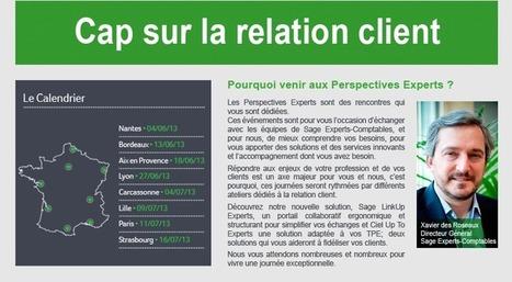 Sage Experts-Comptables organise ses Perspectives Experts 2013 dans toute la France.   Actualités   Scoop.it