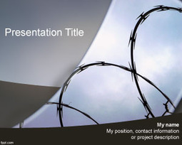 Prison PowerPoint Template | Free Powerpoint Templates | The Theory of Planned Behavior: Behind prison walls | Scoop.it