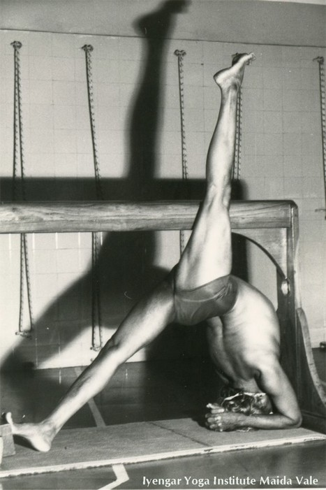 Unseen images of BKS Iyengar from Maida Vale archives | yoga med | Scoop.it