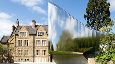 Zaha Hadid completes stainless steel-clad facility at Oxford University | Real Estate Plus+ Daily News | Scoop.it
