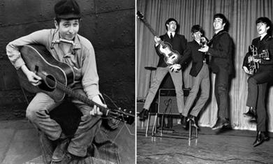 When Dylan met the Beatles – history in a handshake?   TheBeatles   Scoop.it