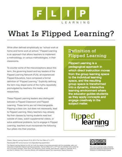 What is flipped learning? | Empowering e-Teachers | Scoop.it