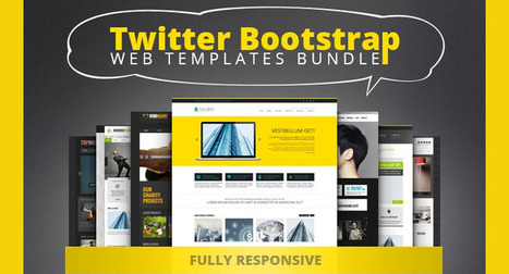 10 Sleek, Responsive Bootstrap Web Templates for 90% OFF ... | Play!kcaB | Scoop.it
