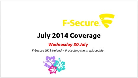 July Coverage (31st) | F-Secure Coverage (UK) | Scoop.it