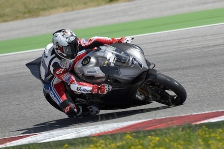 Checa Checks Out the Ducati 1199 Panigale Superbike at WDW | Ducati & Italian Bikes | Scoop.it