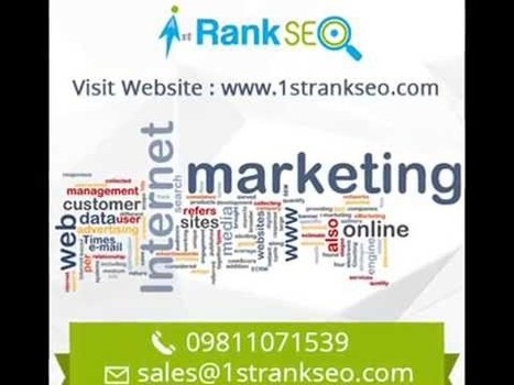 1strankseo - Expert SEO Agency in Delhi | First Rank SEO Delhi | Scoop.it