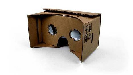 Elegant, cheap, simple folded cardboard mount turns your phone into an Oculus Rift | Matmi Staff finds... | Scoop.it