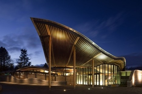 VanDusen Botanical Garden Visitor Centre by Perkins+Will | sustainable architecture | Scoop.it