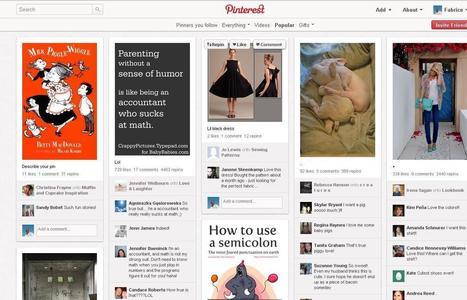 Quel est l'intérêt de Pinterest? | METROPOLIS STUFF | Scoop.it