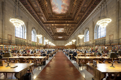 The library becoming more popular than ever, but books no longer the primary focus | Impact Lab | The Information Professional | Scoop.it