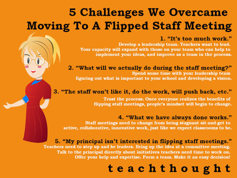 5 Challenges We Overcame Moving To A Flipped Staff Meeting | Moodle and Web 2.0 | Scoop.it
