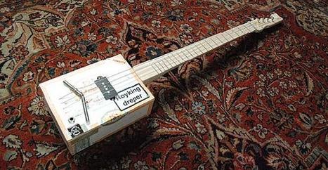 Cigar Box Guitar: le chitarre realizzate dal riciclo delle scatole di sigari   Sigari   Scoop.it