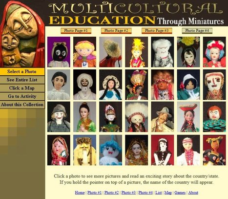 Multicultural Education through Miniatures -- International children's stories, activities, and cultural photographs   Teach, Learn and have fun!   Scoop.it