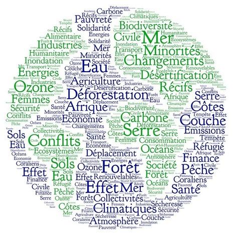 Les mots du changement climatique | Francais | Scoop.it