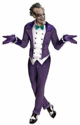 Halloween 2013 Batman Arkham City Adult Joker Costume, Multi-Colored, One Size from Rubie's Costume Co Sales $ Deals | Halloween Costumes 2013 | Scoop.it