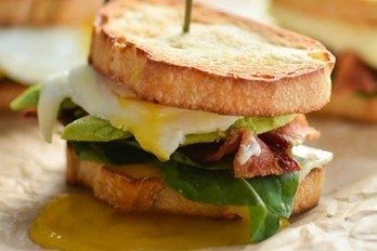 Perfect Breakfast Sandwiches with Spicy Gruyere Hollandaise   Happy Nibbler   Scoop.it