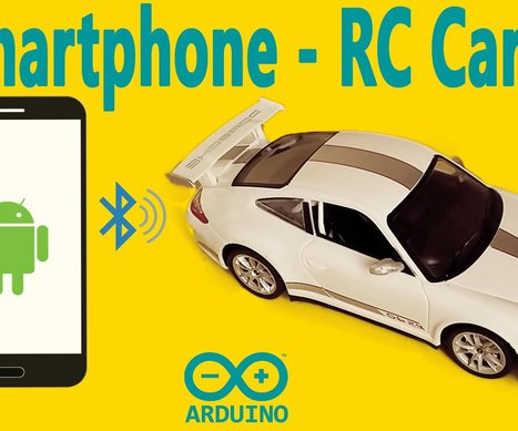 Arduino Projects : How To Control RC Car via Bluetooth (with Smartphone) | Raspberry Pi | Scoop.it
