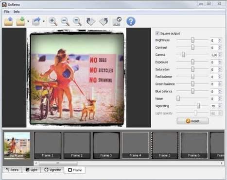 Un utilitaire photo pour créer des effets retro, XnRetro | Retouches et effets photos en ligne | Scoop.it
