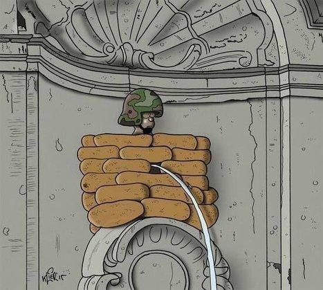 Manneken : peace or war ?   Epic pics   Scoop.it