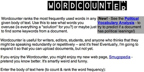 WordCounter | Technology Ideas | Scoop.it