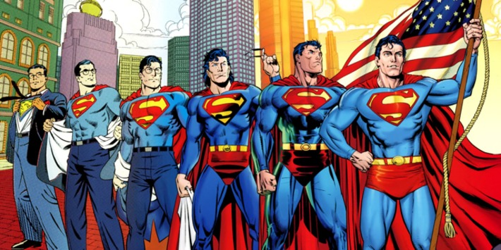 Happy 75th Birthday, Man of Steel!: Look at Superman Through The Ages | Machinimania | Scoop.it