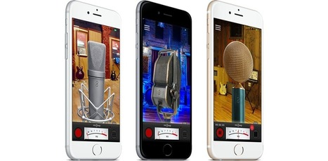 MicSwap, an old-fashioned microphone on your iOS device   Smartphone Stuffs   Scoop.it