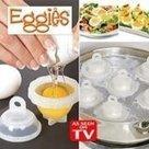 Lot de 6 cuit oeuf moule eggies cuisson au bain-marie ou au micro-ondes: Amazon.fr: Cuisine & Maison   Oeufs   Scoop.it