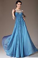 [EUR 149,99] eDressit 2014 New Blue Sheer Top Embroidered Empire Mother of the Bride Dress (26141005)   eDressit 2014 Nouveauté Magnifique Robe de Soirée en tendance   Scoop.it