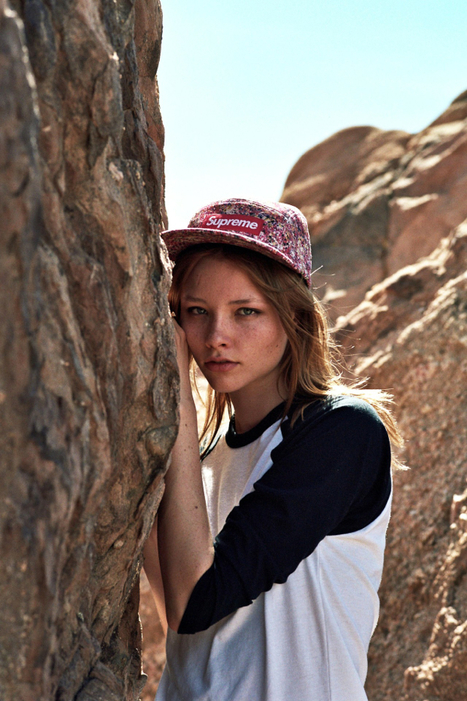 [last days' #shootings and #tests] Alessandro Casagrande shot Brooke Nesbitt (Vision L.A.) for CRUMB Magazine | Pravda | Scoop.it