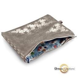 Pochette fantaisie étoiles argentées trousse originale | Accessoires de Mode | Scoop.it
