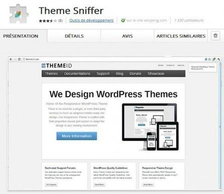 Une extension Chrome pour identifier le thème d'un blog, Theme Sniffer | Mon cyber-fourre-tout | Scoop.it