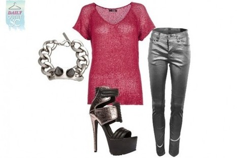 Daily Outfit: Mission Metallic | StyleCard Fashion Portal | StyleCard Fashion | Scoop.it