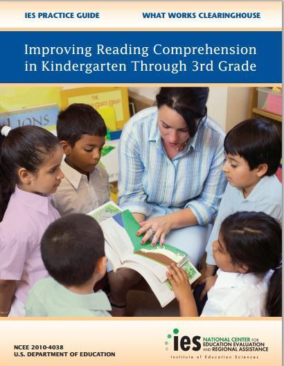 Improving Reading Comprehension in Kindergarten Through 3rd Grade: What Works Clearinghouse | Ideas for 3rd grade Reading! | Scoop.it