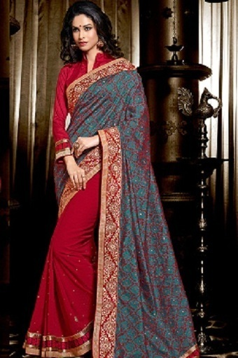 Fashionable Trends in Sarees for 2014 | sareez | Scoop.it