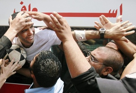 PHOTOS | GOALLLLL!!! | Soccer Player Mahmoud Sarsak is Finally Home! | Occupied Palestine | Scoop.it