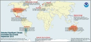 Global Analysis - September 2013 | State of the Climate | National Climatic Data Center (NCDC) | Sustain Our Earth | Scoop.it