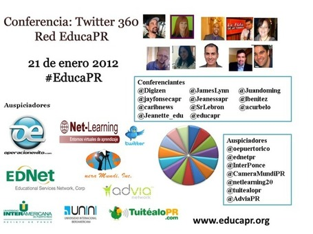 Conferencia:Twitter 360 | Observatorio TIC y Educación | Scoop.it
