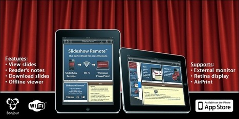 Slideshow Remote for PowerPoint - iPad, iPhone, iPod touch | mlearn | Scoop.it