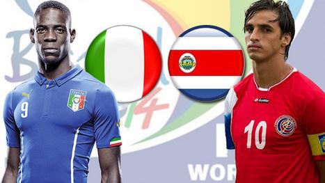 Mundial 2014: Ver online y en directo el Italia - Costa Rica - ComputerHoy.com | MUNDIAL 2014 | Scoop.it