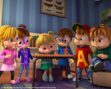 Global content firms commission new Alvinnn!!! and the Chipmunks seasons | Los Angeles - London - Hong-Kong - Barcelona - Paris | Scoop.it