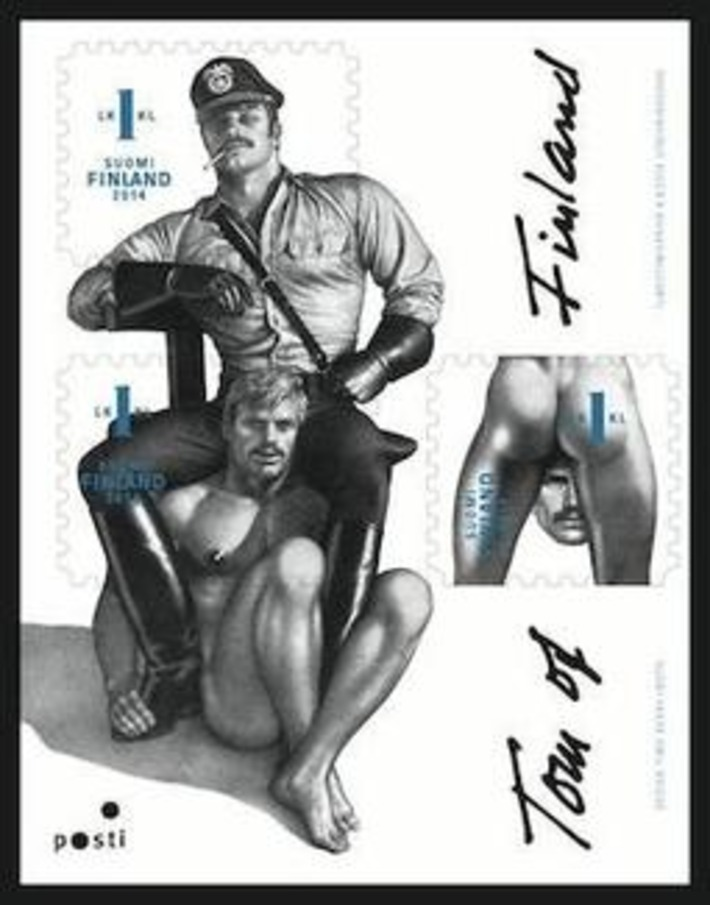 Finland: Tom of Finland stamps are best selling ever | Sex History | Scoop.it